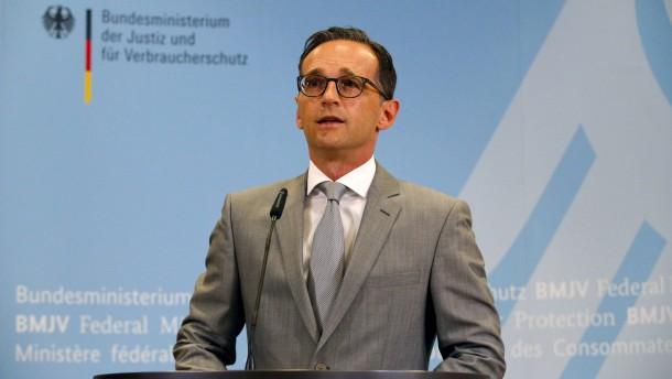 Justizminister Maas entlässt Generalbundesanwalt Range