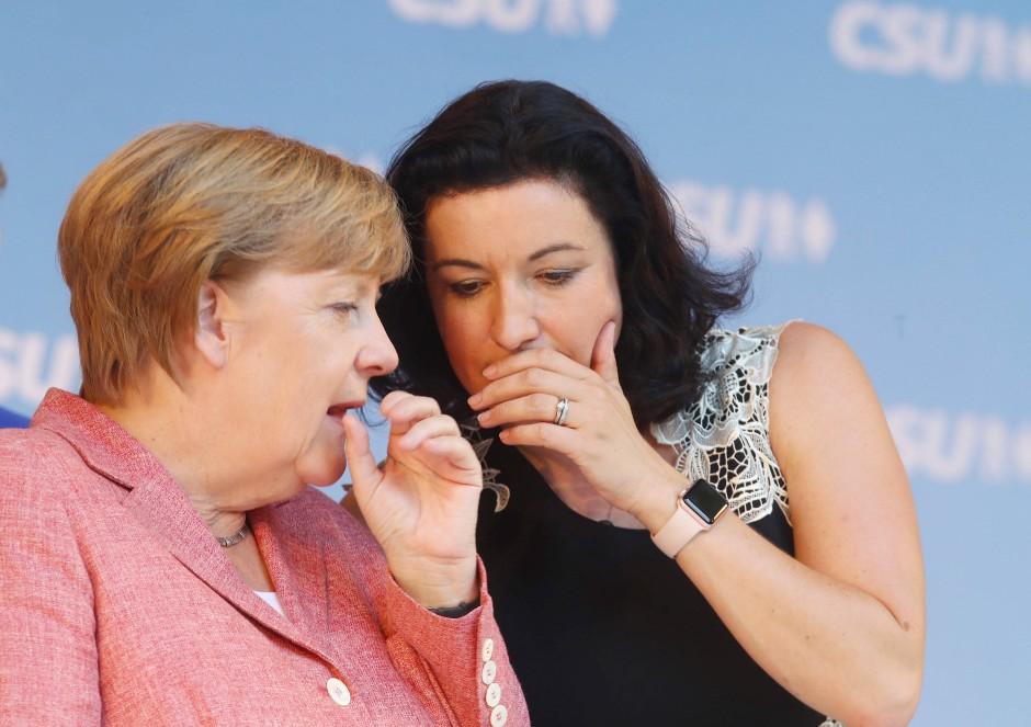Dorothee Bär von der CSU gilt als Politikerin der Zukunft