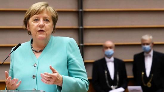 Merkel mahnt Europa zur Einheit