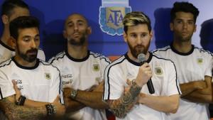Messi, die Medien – und ein möglicher Joint