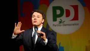 Renzi kennt nur den Weg nach vorne