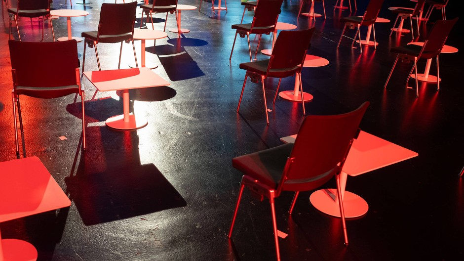 Viele müssen leer bleiben: Die Frankfurter Buchmesse 2020 hat nur wenige physische Veranstaltungen im Programm.
