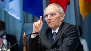Schäuble: Wahlrecht zugunsten von kleinen Parteien ändern