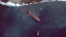 Öl aus havariertem Frachter vor Mauritius abgepumpt