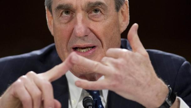 Will Trump Sonderermittler Mueller entlassen?