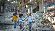Leogane nach dem Erdbeben vor zehn Jahren