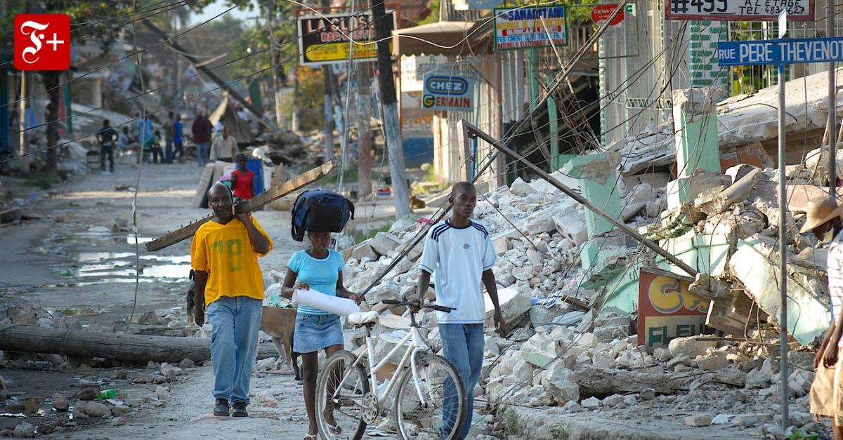 10 Jahre nach Beben in Haiti: Als die Erde uns abschütteln wollte