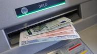 Wenn der Automat kein Geld ausspuckt