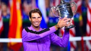 Nadal hat sich nicht mehr unter Kontrolle