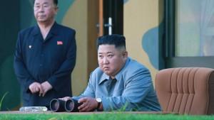 Raketentest war laut Kim Jong-un Warnung an Südkorea