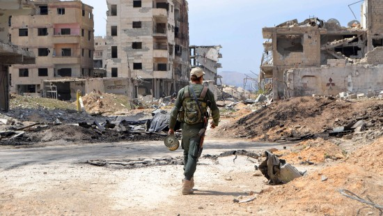 Letzte Rebellen verlassen Ost-Ghouta
