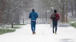 Ist Joggen bei Frost ungesund?