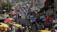 Marktplatz im nigerianischen Lagos.