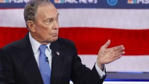 Bloomberg bei erster TV-Debatte unter Druck