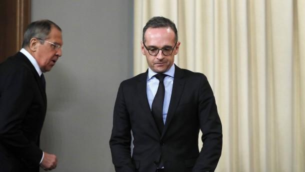 """Opposition wirft Maas """"lustlose"""" Amtsführung vor"""