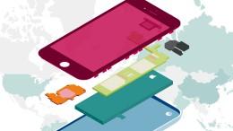 Wo unsere Smartphones herkommen