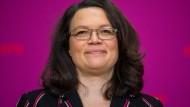 Andrea Nahles wird neue Ministerin für Arbeit und Soziales