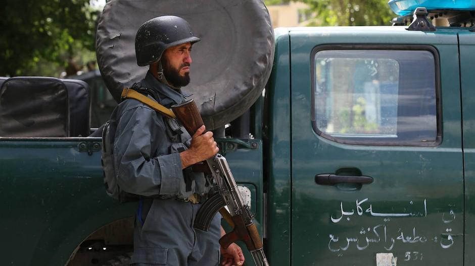 Anschlag auf Moschee in Kabul
