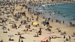 Mehr als 40 Grad in Sydney