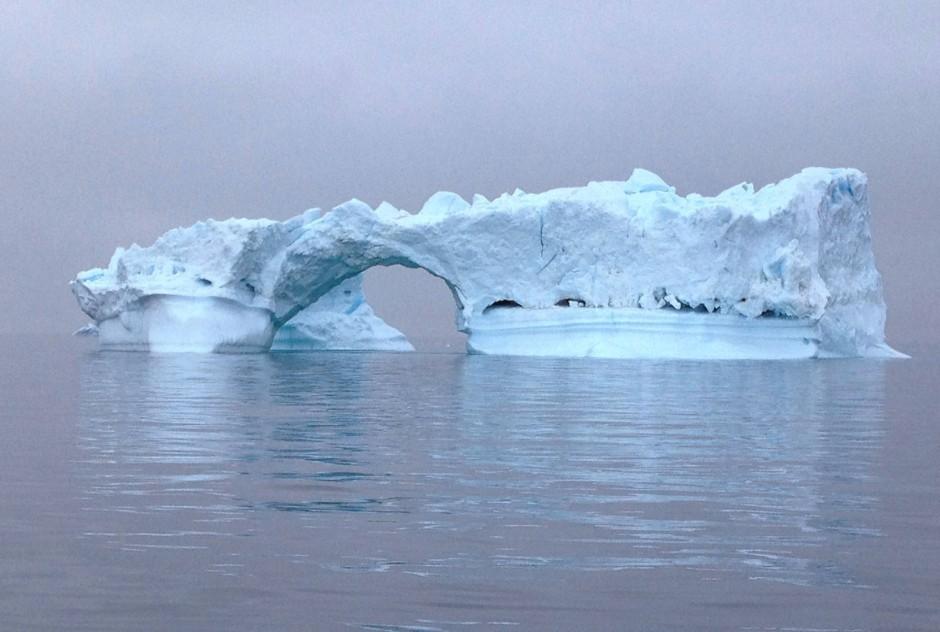 An diesem Eisberg könnte manches zerschellen: Bei Arte kommen wir aber elegant und in 3D um alle Tiefkühlklippen herum