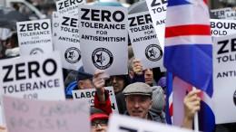 Scotland Yard ermittelt wegen antisemitischer Hassparolen
