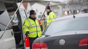 Dänemark verlängert Kontrollen an deutschen Grenzübergängen