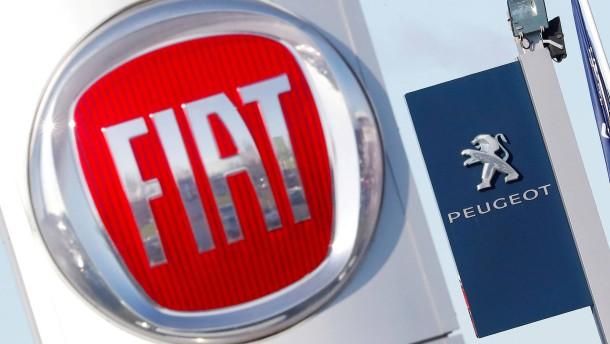 Autohersteller PSA und Fiat Chrysler beschließen Fusion