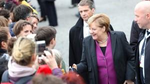 Merkel: Deutsche Einheit ist langer Prozess
