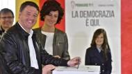 Renzi erobert Vorsitz der Regierungspartei zurück