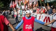 Proteste gegen den G-20-Gipfel in Buenos Aires