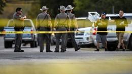 Todesschütze von Texas hat wohl Selbstmord begangen