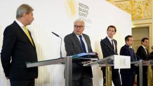 Steinmeier: Grenzzäune sind keine Lösung