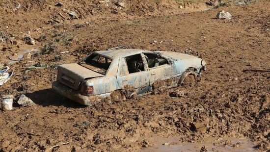 Überschwemmungen in Jordanien