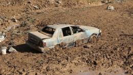 Mindestens zwölf Tote bei Überflutungen in Jordanien