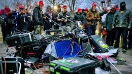 Trump-Anhänger attackieren Journalisten