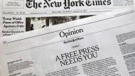 """""""Journalisten sind nicht die Feinde"""""""