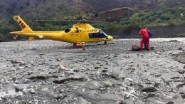 Drei Vermisste nach Sturzflut lebend gefunden