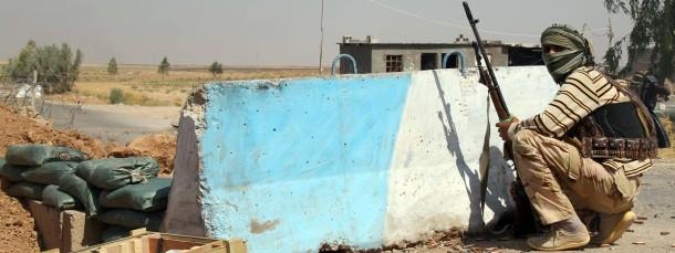 Ein turkmenischer Kämpfer in Amerli: Auf verlorenem Posten?