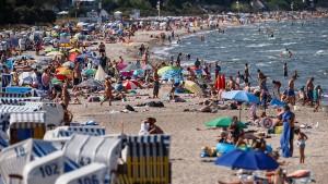 Ostsee fast so warm wie das Mittelmeer