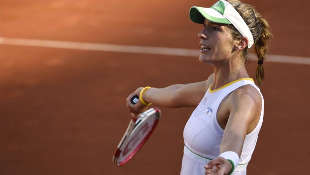 Andrea Petkovic kann ihre Chancen nicht nutzen