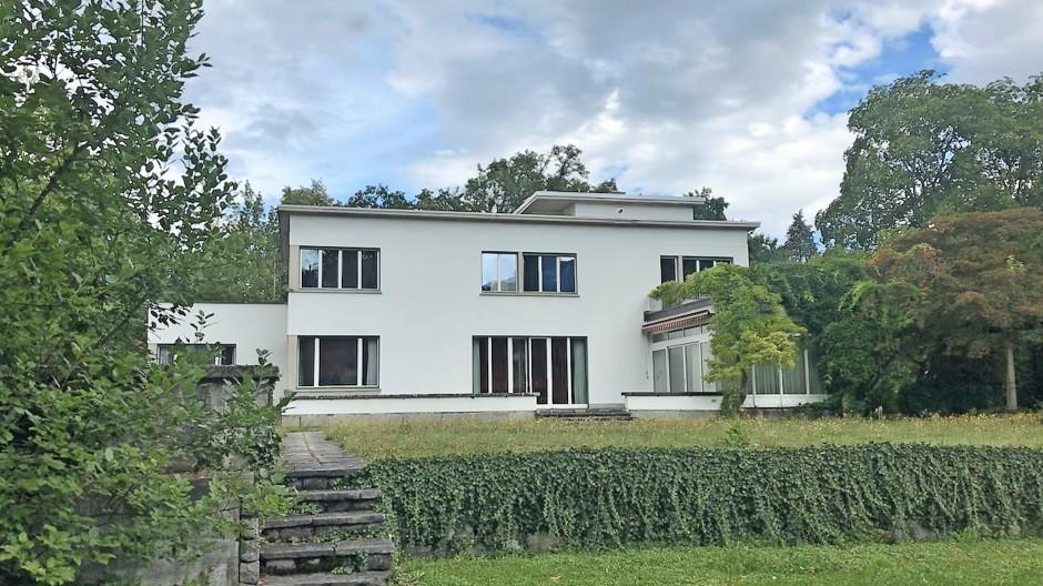 Villa Senar, von Süden gesehen