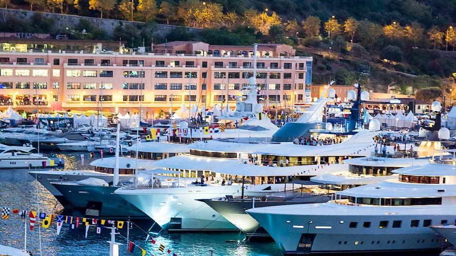 Hier lässt es sich leben: Der Yacht-Club von Monaco