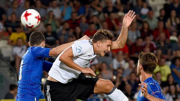 U21 des DFB steht nach Niederlage gegen Italien im EM-Halbfinale