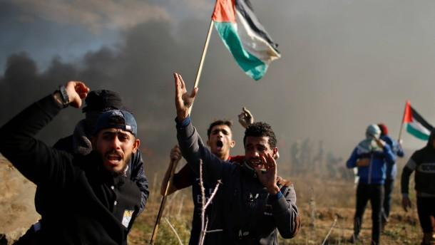 Ein Toter bei Unruhen im Nahen Osten