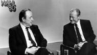 Ein Modell für die Zukunft? Die Regierungskoalition aus SPD und FDP wurde am 05.10.1980 bei den Wahlen zum Deutschen Bundestag vom Wähler bestätigt. Die Parteivorsitzenden hießen damals Hans-Dietrich Genscher und Willy Brandt