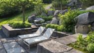 Ein Garten voller Schwergewichte