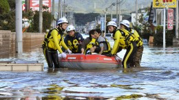Tote und Verletzte durch Taifun Nummer 19