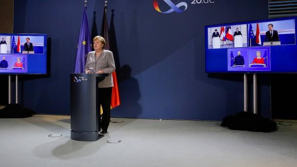 """Merkel: """"Müssen über gemeinsamen Kampf gegen den Terrorismus sprechen"""""""
