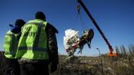 Bergung von Wrackteilen in Ostukraine beendet