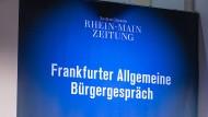 In den Dialog kommen: Das ist das Credo des Bürgergesprächs der Frankfurter Allgemeinen Zeitung.